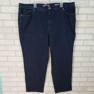 4/$25 Sale-Gloria Vanderbilt Cropped Jeans 24W
